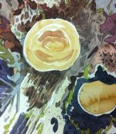 Artist: Zahari Hamidon Title: Nature #3 Medium: Watercolour Year: 2012