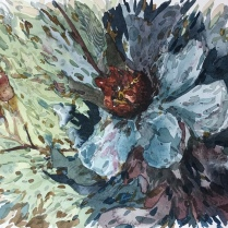 Artist: Zahari Hamidon Title: Flower Year: 2016 Medium: Watercolor on paper Price: Size: