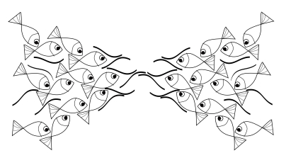 Zahari Hamidon. The Meeting. Digital Drawing, 2020
